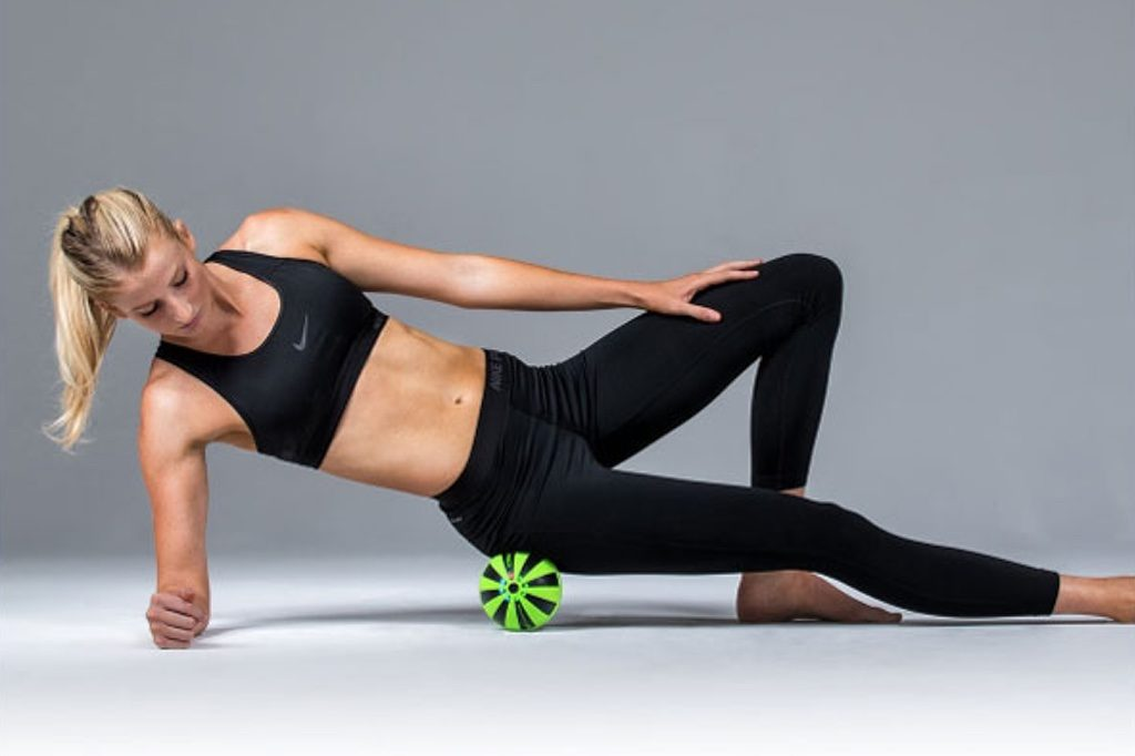 Glutes Trigger Roller Release to Get Rid of Low Back Pain at home