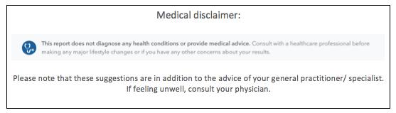 Medical Disclaimer MIANI