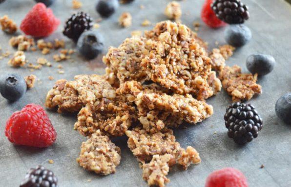 low carb keto granola