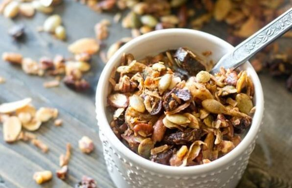 A vegan, ketogenic granola recipe that fits a Functional Medicine lifestyle for optimal health